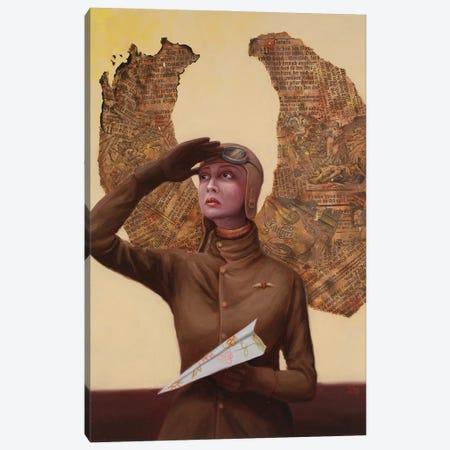 Icarus Canvas Print #ANU28} by Anna Magruder Canvas Art Print