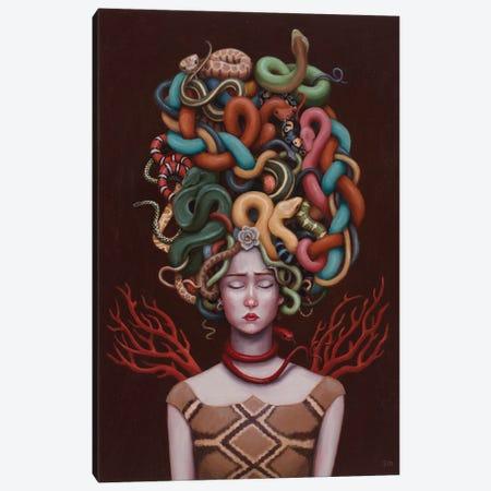 Medusa Canvas Print #ANU29} by Anna Magruder Canvas Art Print