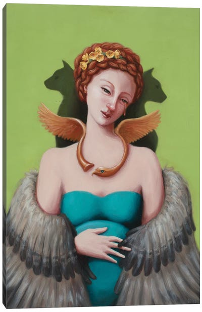 Freyja Canvas Art Print