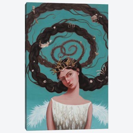 Harpy Canvas Print #ANU33} by Anna Magruder Canvas Art
