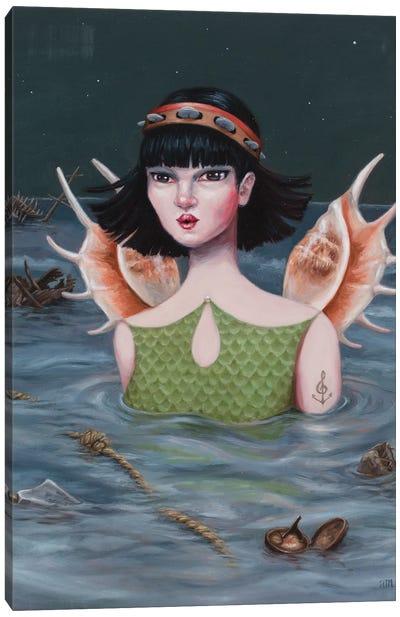 Siren Canvas Art Print