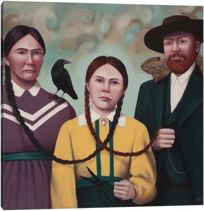 Métis Canvas Art Print