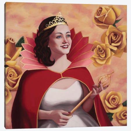 Rose Queen Canvas Print #ANU38} by Anna Magruder Canvas Wall Art