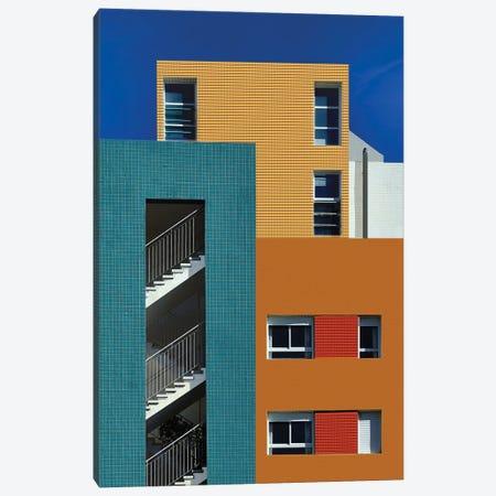 Colorful Urban Textures Canvas Print #AOB5} by Arnon Orbach Canvas Wall Art