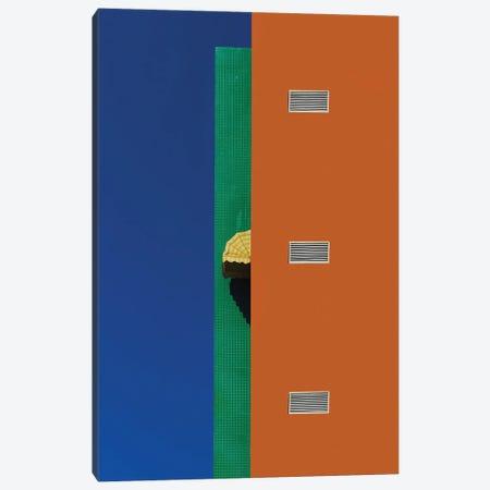 The Yellow Canopy Canvas Print #AOB7} by Arnon Orbach Canvas Artwork
