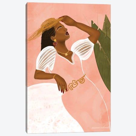 La Go Soukali Canvas Print #AOD10} by Manue Adoude Canvas Artwork