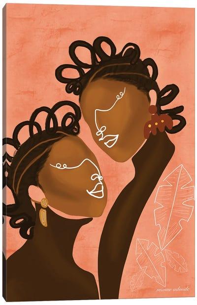 The Ladies Canvas Art Print