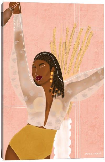 Aya Canvas Art Print