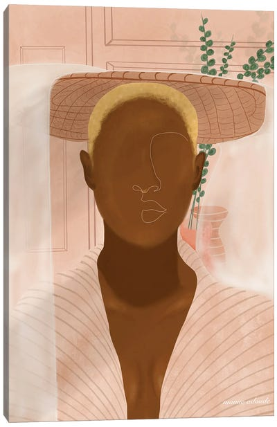 Nana Canvas Art Print