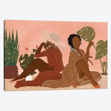 Sista Canvas Print #AOD15} by Manue Adoude Art Print