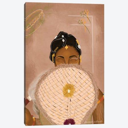 The Bride Canvas Print #AOD16} by Manue Adoude Canvas Print