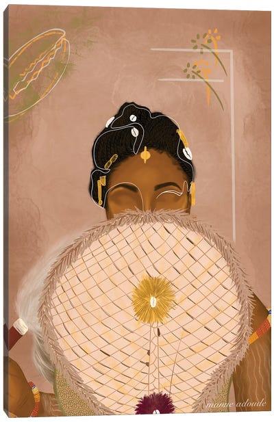 The Bride Canvas Art Print