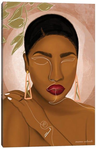 Awa Canvas Art Print