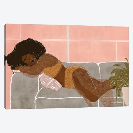 Ada Canvas Print #AOD18} by Manue Adoude Canvas Wall Art