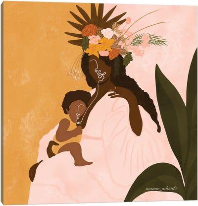 Mother Bloom Canvas Art Print