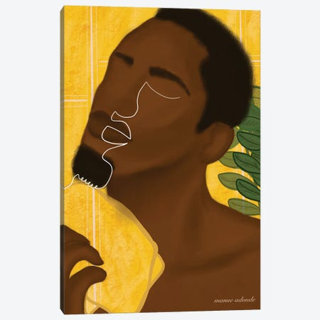 Doulee Canvas Print #AOD8} by Manue Adoude Canvas Art Print