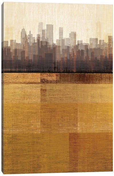 Metropolitan Jewel-box - Topaz Canvas Art Print