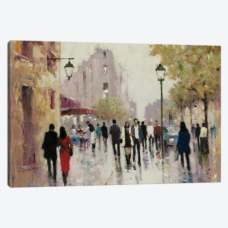 Paris Afternoon I Canvas Print #AOR13} by A. Orme Canvas Art