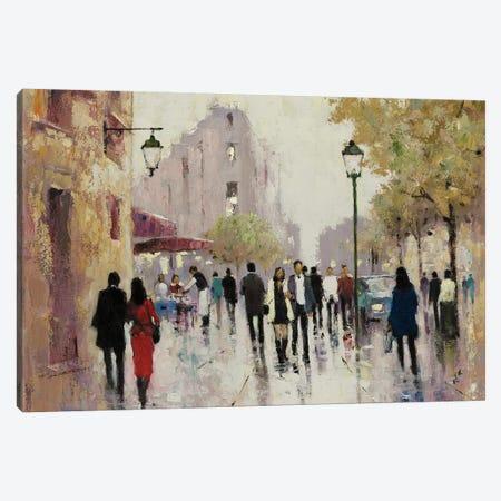 Paris Afternoon I Canvas Print #AOR13} by E.A. Orme Canvas Art