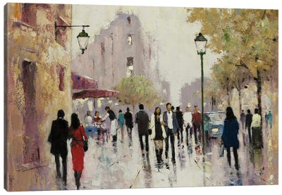 Paris Afternoon I Canvas Art Print