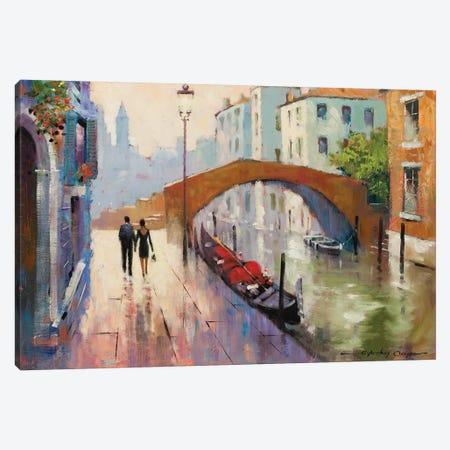 Venice Twilight Canvas Print #AOR18} by E.A. Orme Canvas Art