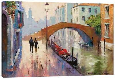 Venice Twilight Canvas Art Print