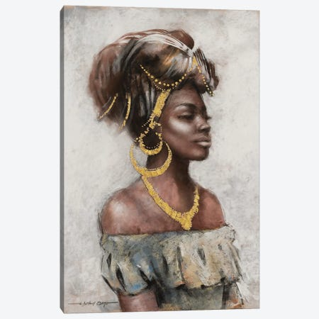 Beauty and Grace Canvas Print #AOR19} by A. Orme Canvas Wall Art