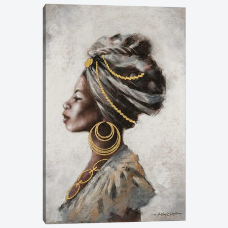 Beauty and Strength Canvas Print #AOR20} by A. Orme Canvas Art Print