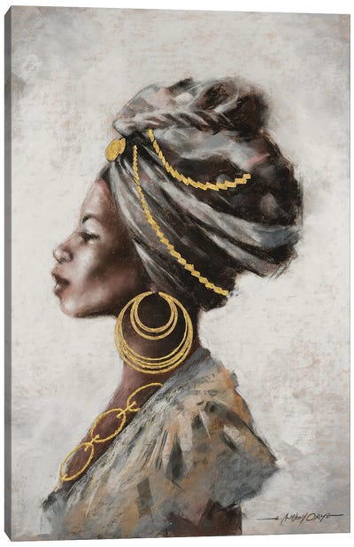Beauty and Strength Canvas Art Print