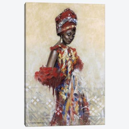 Celebration Of Beauty I Canvas Print #AOR21} by A. Orme Canvas Print