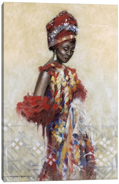 Celebration Of Beauty I Canvas Art Print