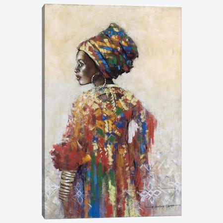 Celebration Of Beauty II Canvas Print #AOR22} by A. Orme Art Print