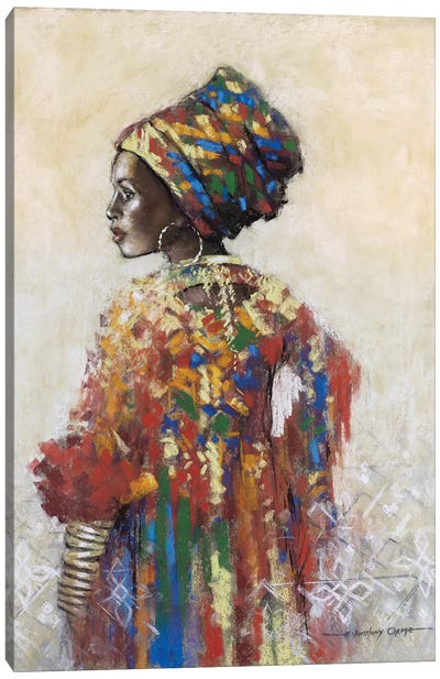 Celebration Of Beauty II Canvas Art Print