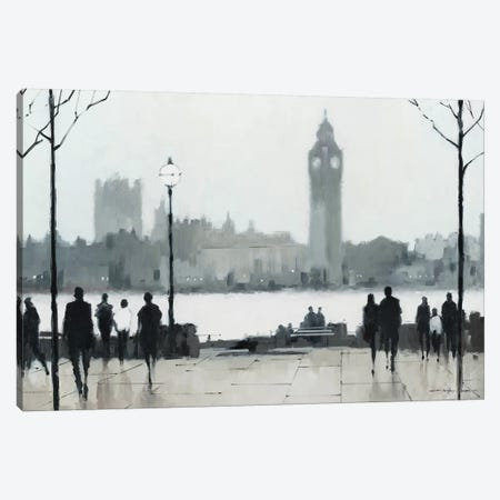 Morning London Canvas Print #AOR26} by A. Orme Canvas Art