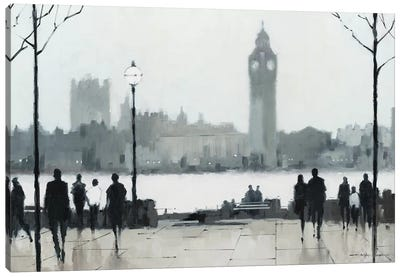Morning London Canvas Art Print