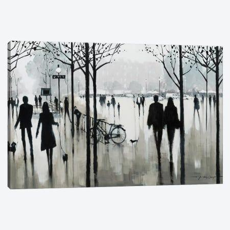 Morning Paris Canvas Print #AOR27} by E.A. Orme Canvas Artwork
