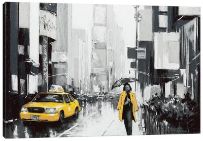 New York City II Canvas Art Print
