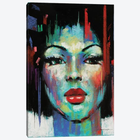 Pop Pastel I Canvas Print #AOR30} by A. Orme Canvas Art