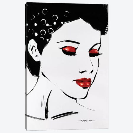 Sketch Pop II Canvas Print #AOR37} by E.A. Orme Canvas Art Print