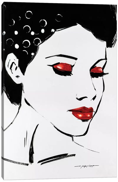 Sketch Pop II Canvas Art Print