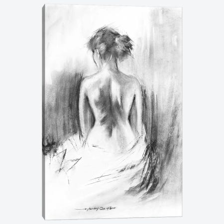 Soft Silhouette II Canvas Print #AOR40} by E.A. Orme Canvas Art Print