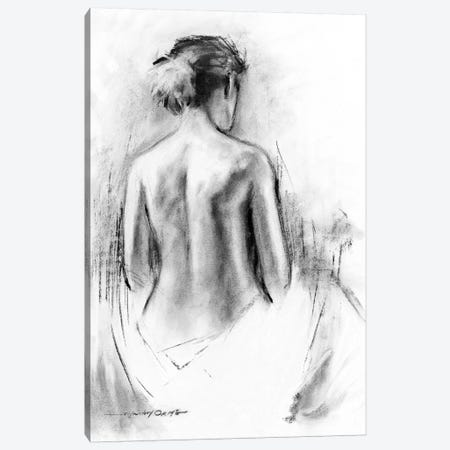 Soft Silhouette III Canvas Print #AOR41} by E.A. Orme Canvas Print