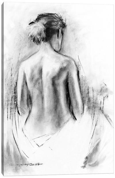 Soft Silhouette III Canvas Art Print