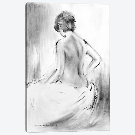 Soft Silhouette V Canvas Print #AOR43} by E.A. Orme Canvas Print