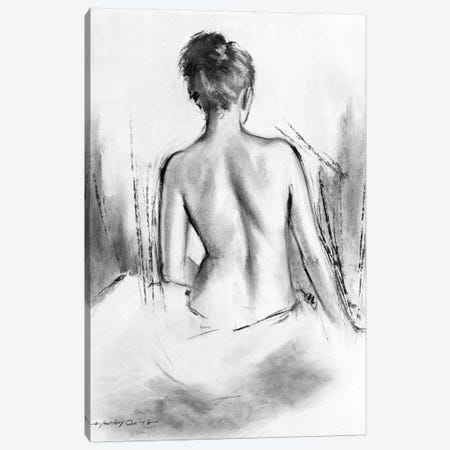 Soft Silhouette VI Canvas Print #AOR44} by E.A. Orme Canvas Wall Art