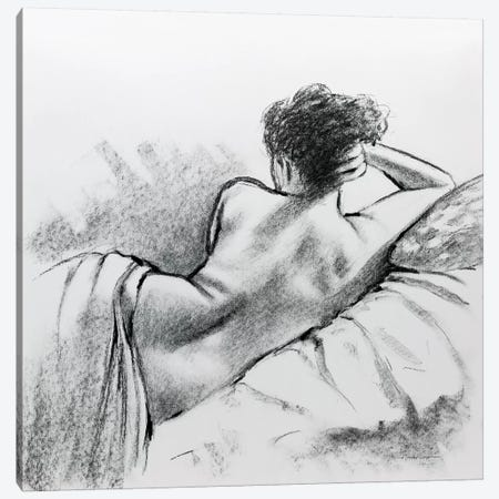 Soft Sunday II Canvas Print #AOR49} by E.A. Orme Art Print