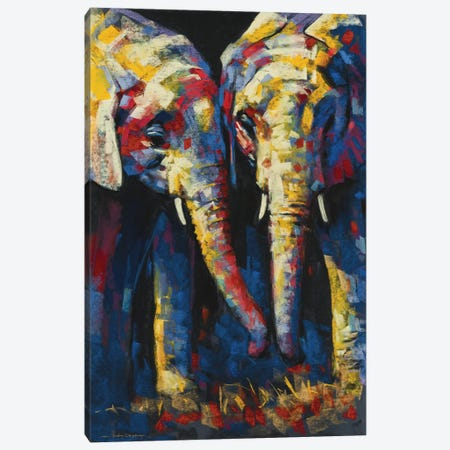 Vibrant Africa Canvas Print #AOR51} by A. Orme Canvas Artwork