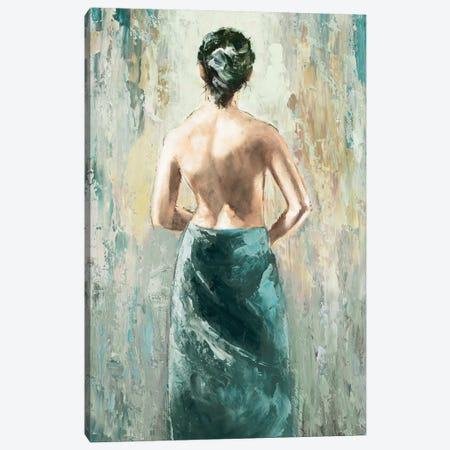 Demure I Canvas Print #AOR8} by A. Orme Canvas Artwork