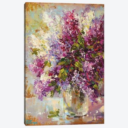 Lilac Canvas Print #AOS12} by Andrej Ostapchuk Art Print