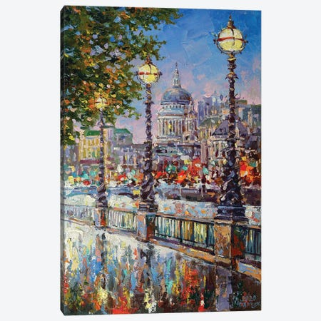 London VI Canvas Print #AOS14} by Andrej Ostapchuk Canvas Art